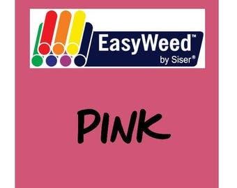 Siser EasyWeed Heat Transfer Vinyl - HTV - Pink