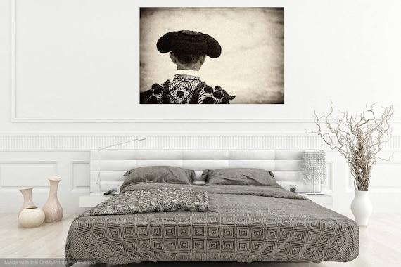 THE MATADOR. Black and White Print, Monochrome Print, Spanish Print, Travel photography, Limited Edition, Sepia Tone