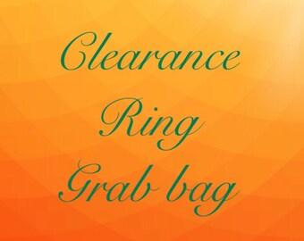 CLEARANCE stunning ring grab bag