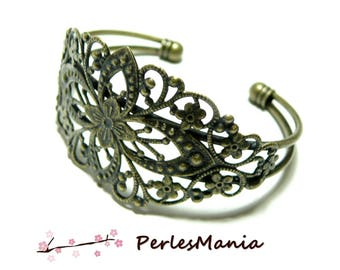 "1 bracelet holder ""watermark"" BRONZE"