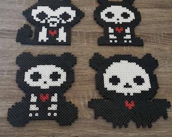 Skelanimals - Perler Beads