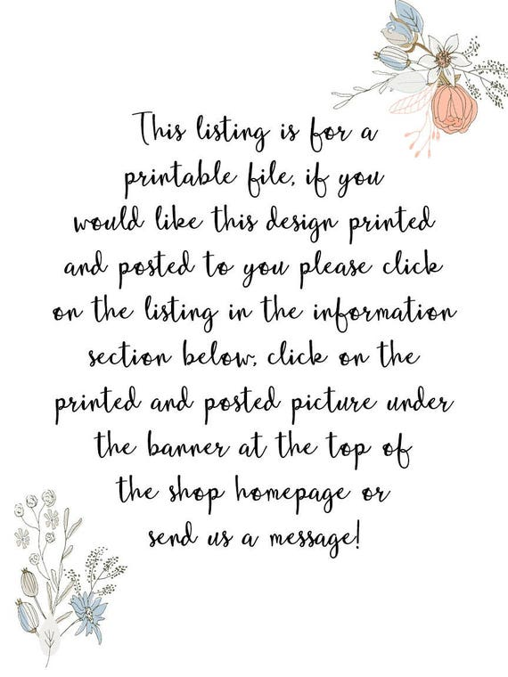 Your Wedding Vows Printable Personalized Vow Set Print Anniversary Typography Little Tiger Designs