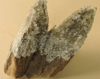 RESERVED FOR LINDSEY until July 5th. Stunning rare specimen of ankerite crystals covered with selenite crystals