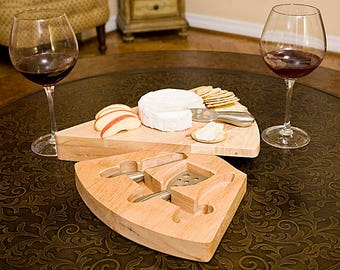 Unique Wedge Shaped Cheese Board