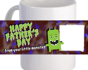From Your Little Monster Coffee Mug A lovely Personalized Gift