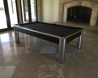 8ft. Contemporary Pool Table