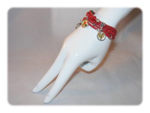 Cuff style bracelet * Fleur * Unique