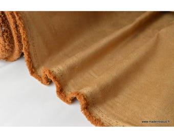 Suedine ameublement grnade largeur beige x50cm