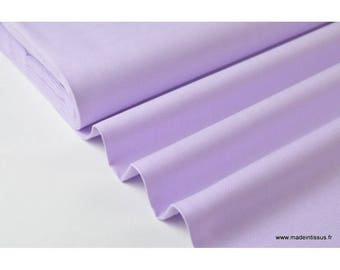 Tissu pour chemise oxford parme x50cm