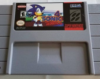 Sonic the Hedgehog 4 Custom English Super Nintendo SNES