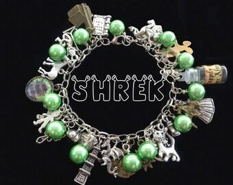 Shrek Womens Charm Bracelet