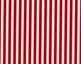 Michael Miller Fabric Festive Clown Stripe In Red CX3584-Red-X-D