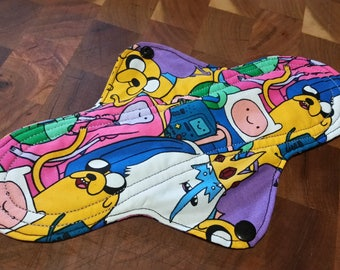 Adventure time of the Month Reusable pad