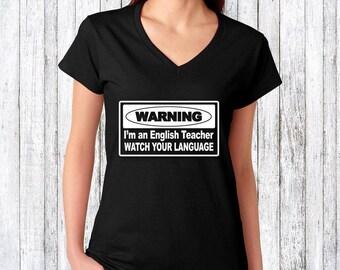 Teacher shirt -  teacher gift idea - teacher appreciation gift - teacher birthday present - funny teacher gift idea - present for teacher