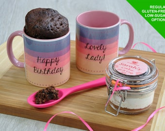 Best friends mug, happy birthday, cake mug, funny mug, funny mugs, cake topper, mums birthday, ladys birthday, mug cake kit, birthday gift