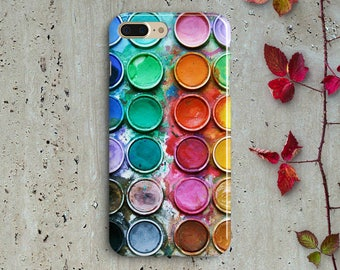 Watercolor Set IPHONE CASE  iPhone 6/6S  iPhone 6/6S Plus  iPhone 5/5S  iPhone 5C Htc M8 M9 case,Samsung galaxy S7 S6 S6 Edge S5 case