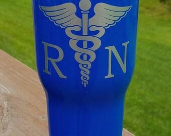 RN tumbler / Medical tumbler / Nurse Tumbler / RTIC Tumbler 20 oz, 30 oz