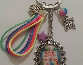 Key home key year end gift cabochon