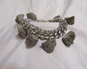 Gray Stone Bracelet