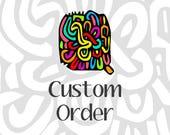 Custom Order: Cacti Friendship Bracelet - Q'enqo Bracelets