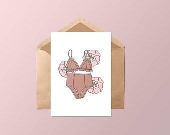 Card • lingerie