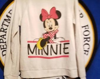 Minnie Mouse Vintage True Sweater Long Sleeve Jumper Disney L