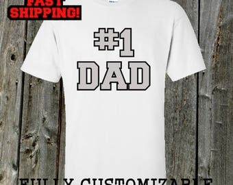 Father's day t-shirt - #1 Dad shirt  for the World's Greatest Dad