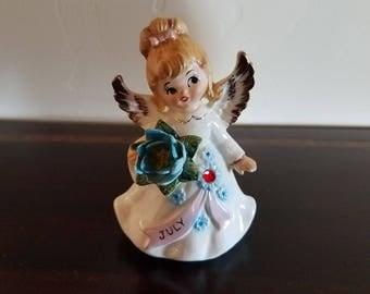July Birthday Angel by Lefton