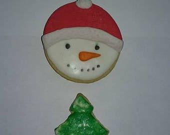12 Christmas Cookies
