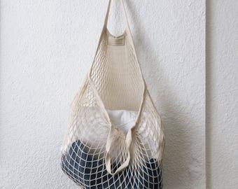 Reusable Cotton Net Bag Small - Shopping- Produce