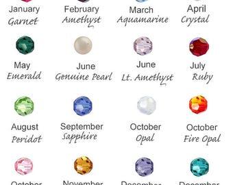 Add A Charm: Swarovski Crystal, Birthstone Charm, Freshwater Pearls, Sterling Silver