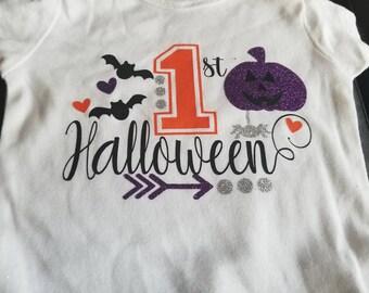 1st Halloween onesie *SHIRT ONLY***