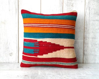 Kilim pillow vintage pillow turkish kilim pillow