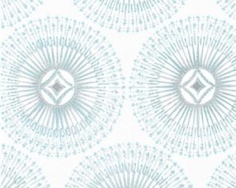 "Dena Designs     Free Spirit ""Winterland""  Sparkle-White    Cotton Fabric"