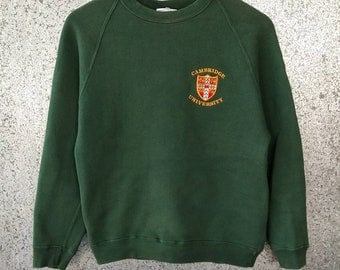 Vintage Cambridge University sweatshirt
