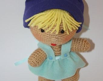 Amigurumi Doll Crochet Baby Crochet doll Handmade Crocheted Doll Stuffed Toy