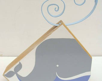 "Decorative wood ""Gray whale"""