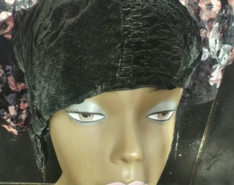 Vintage Flapper Style Hat From The 60's/Thelma/costume hat/Halloween