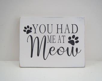 Pet Sign/Paw Pet Sign/Cat Sign/Painted Pet Sign