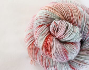 Strawberry Swing - Gosling - 80/10/10 superwash merino/ cashmere/ nylon sock yarn
