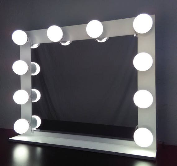 Vanity mirror with lights Dimmer and 2plug outlet