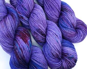 Lydia- DK weight, Superwash Merino, 250 yards, Hand dyed Yarn