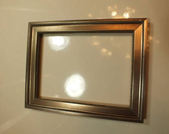 5 x 7 Silver Wood Small Picture Frame 039