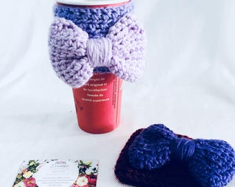 Bow Coffee Cozy