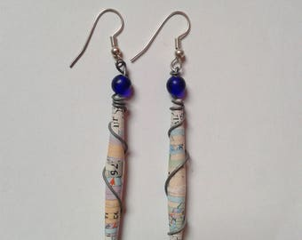 Paper/Paper earrings earrings