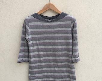 Dkny Stripes 3 Quarter Shirt