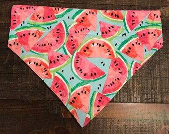 Summer Watermelon Dog Bandana- Marleys Summer Collection