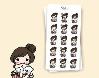 SALE MOVIE NIGHT Sarah | Planner Stickers, Movie, Bingewatch, Netflix, Korean Drama, Asian Drama, Tv Series, Popcorn, Scrapbook, Calendar |