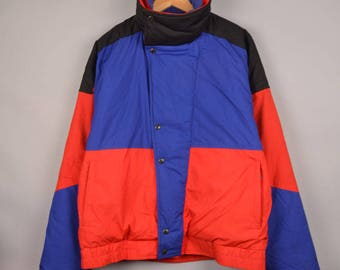 vintage 90's the north face padded jacket, vintage TNF, bomber jacket, anorak jacket, gore tex jacket, vintage the north face windbreaker