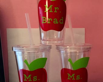Teachers 16 oz cups